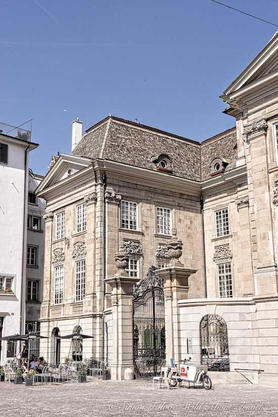 Zurich, Elegant Architecture