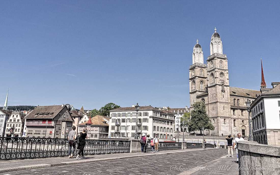 Zurich, Old Town and Grossmunster