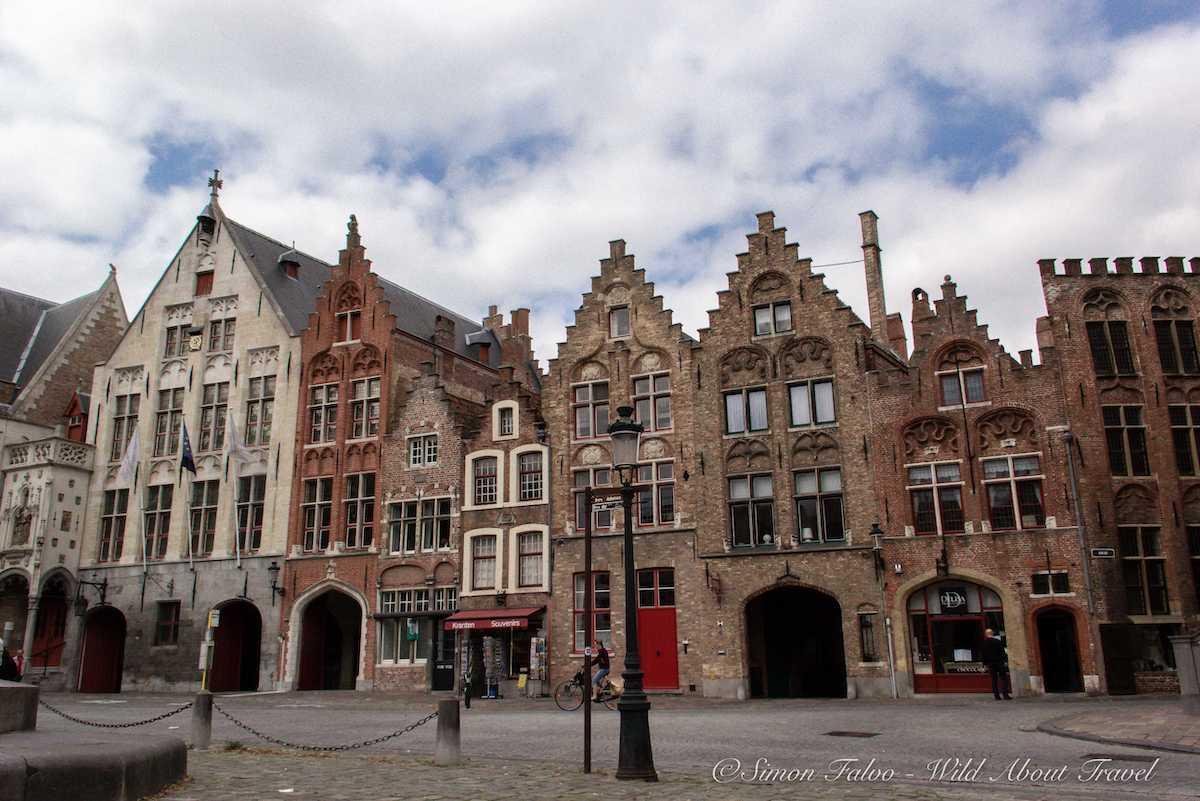 Bruges Jan Van Eyck Square