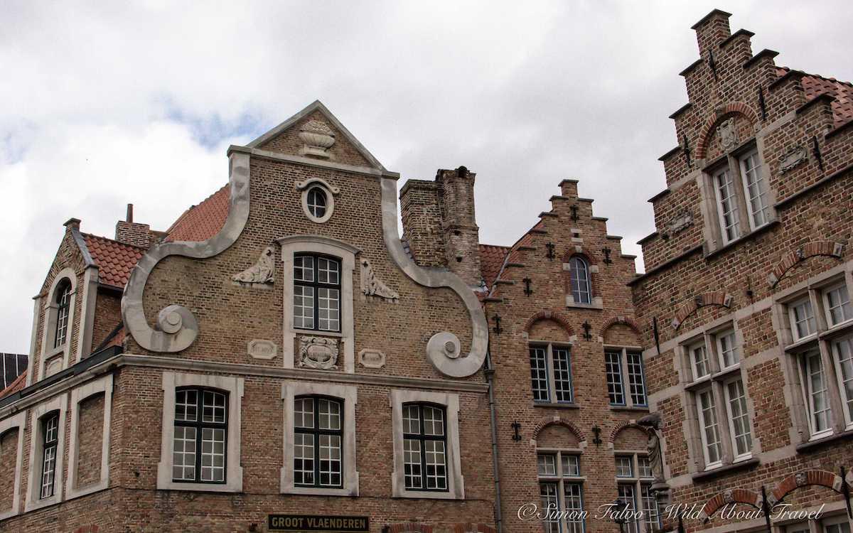 Bruges Old Houses