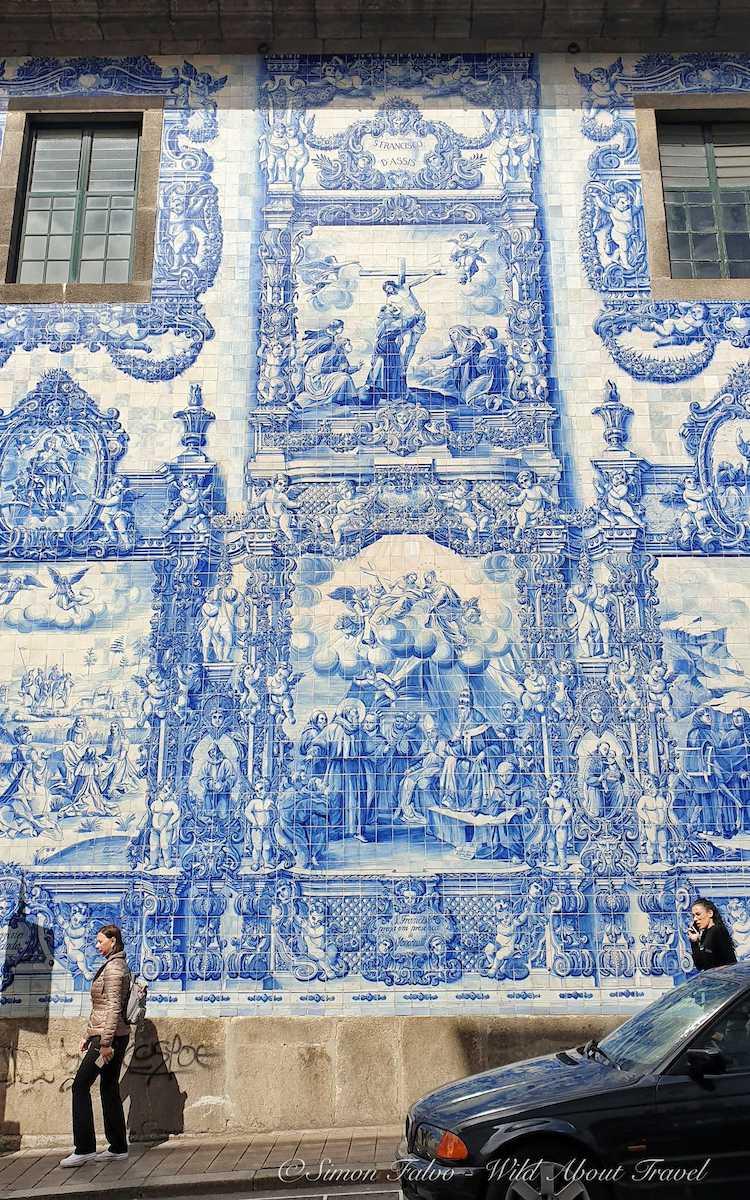 Porto Igreja do Carmo Azulejos