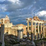 Roman Forum at Dusk