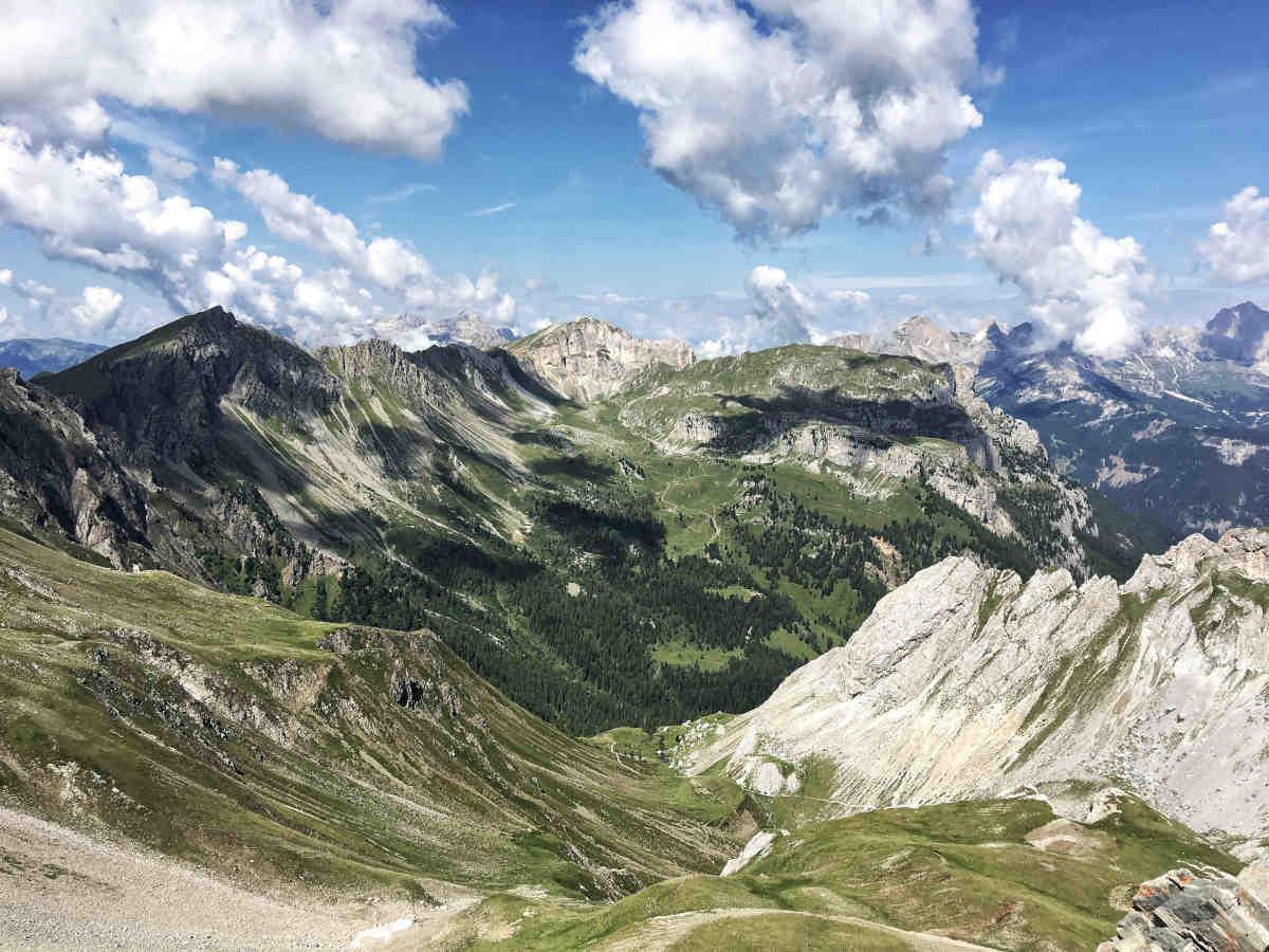 Dolomites, Hiking Alta Via dei Monzoni