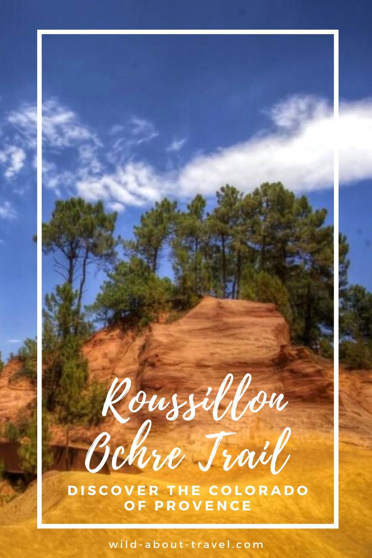 France, Roussillon Ochre Trail