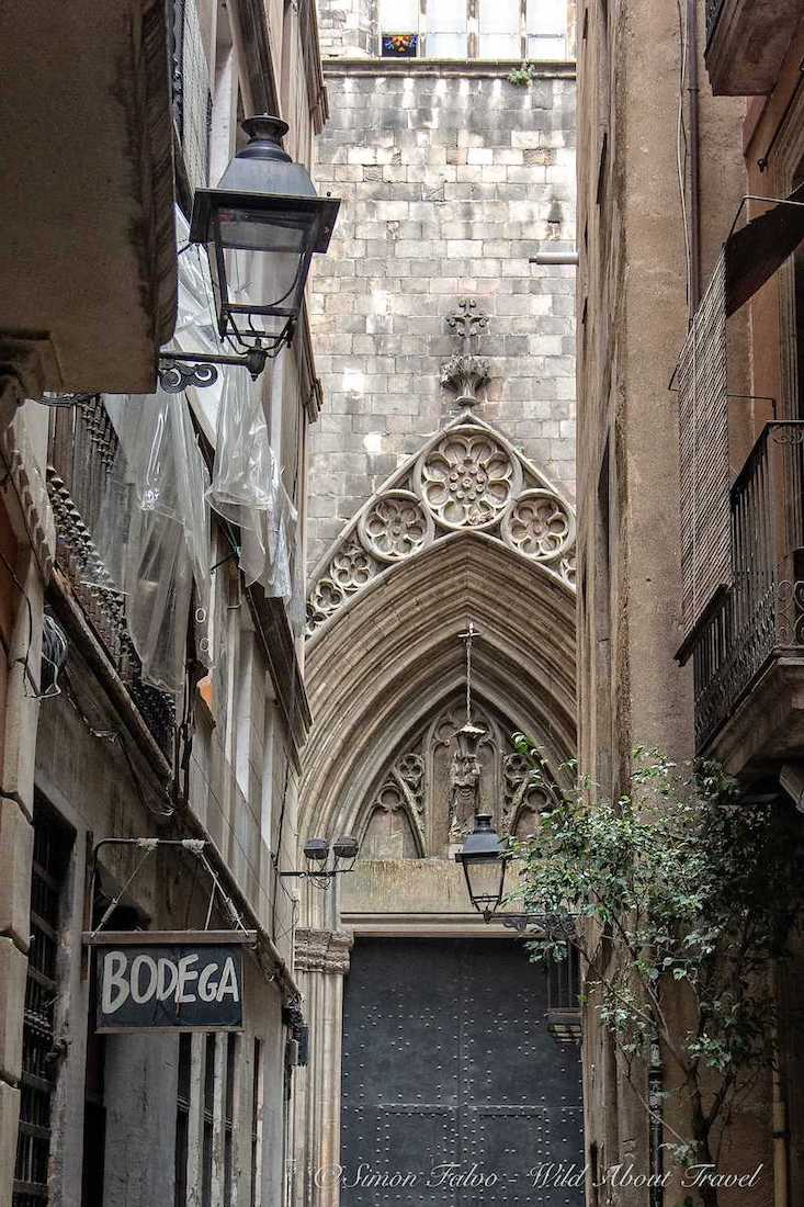 Spain, Barcelona Gothic Quarter