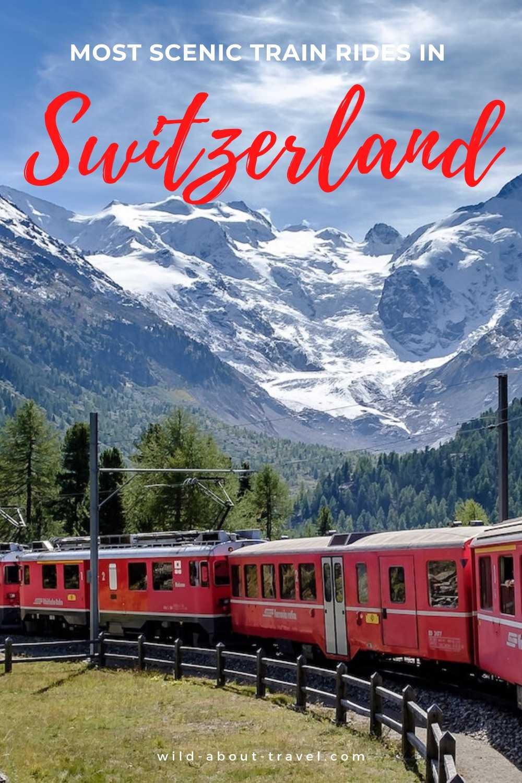 Scenic Train Rides in Switzerland