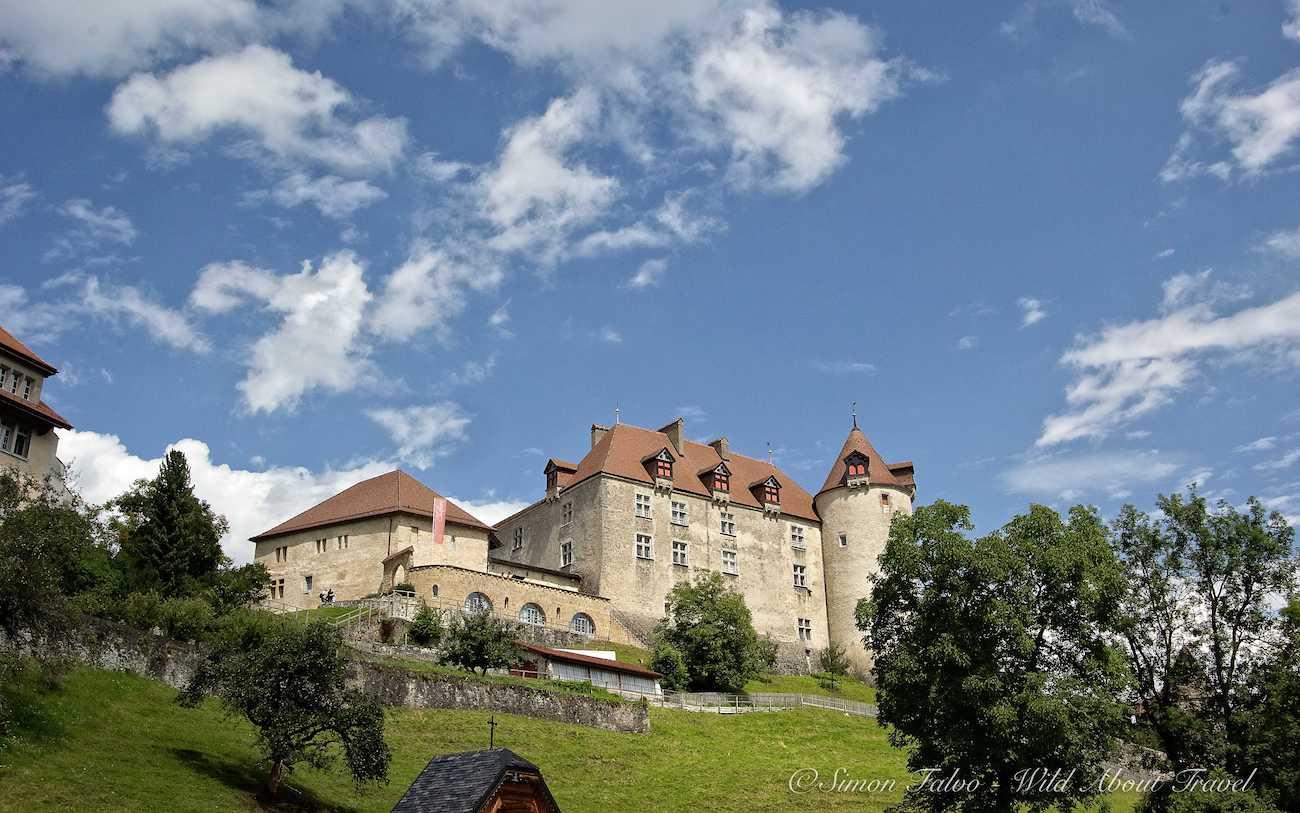 The Castle of Gruyères