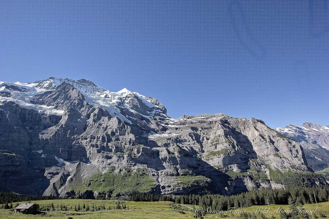 View from the Jungfraujoch Scenic Train