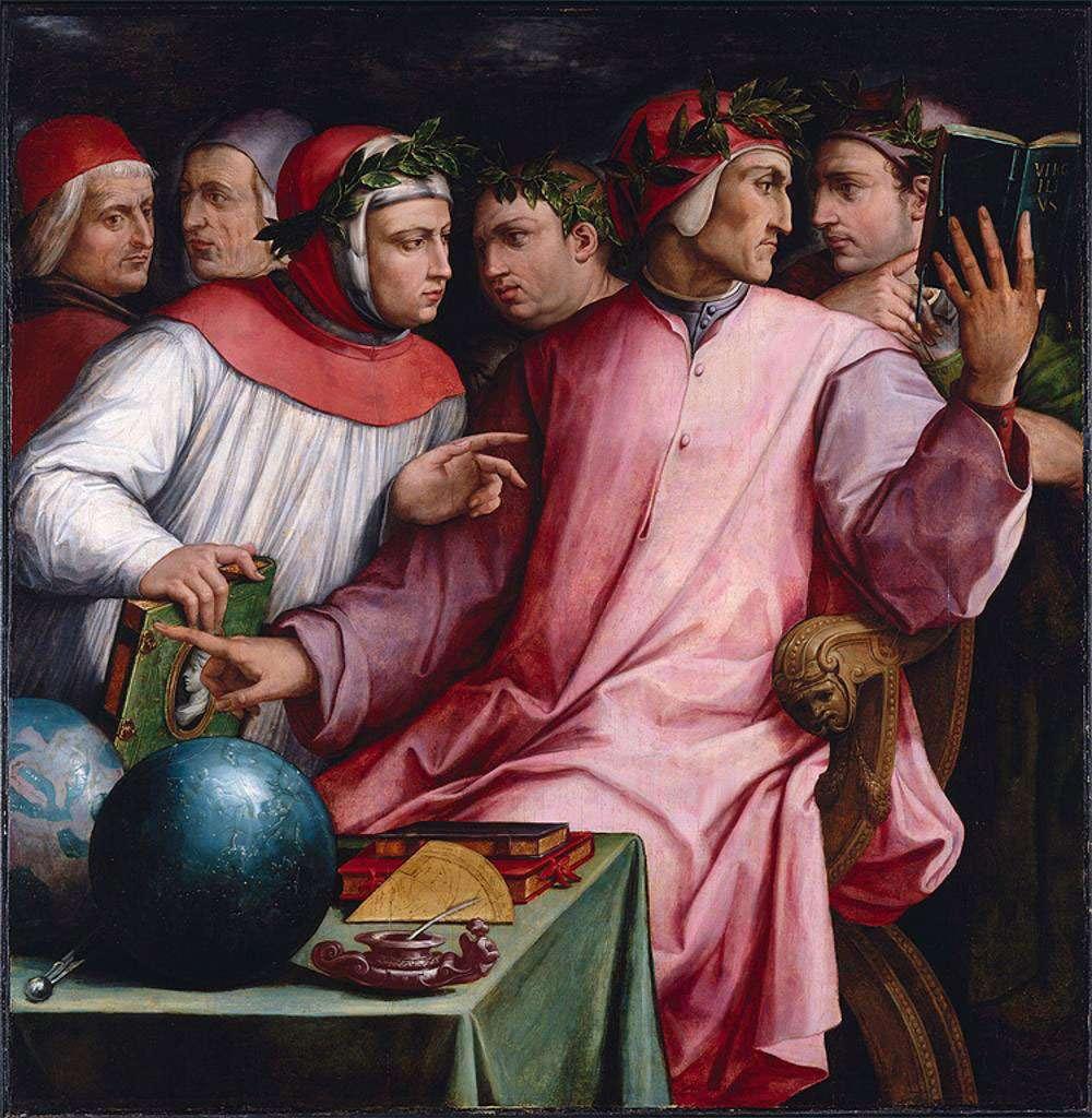 Giorgio Vasari - Six Tuscan Poets (1544)