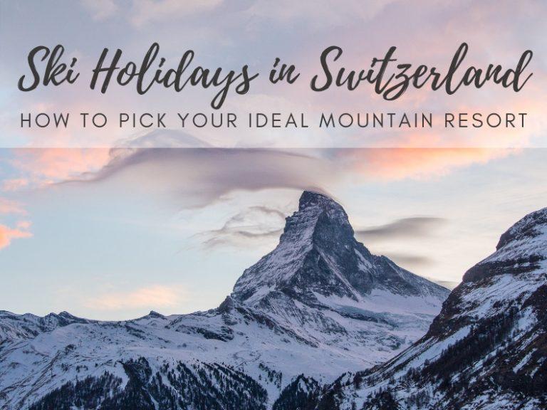 Ski resorts in Switzerland