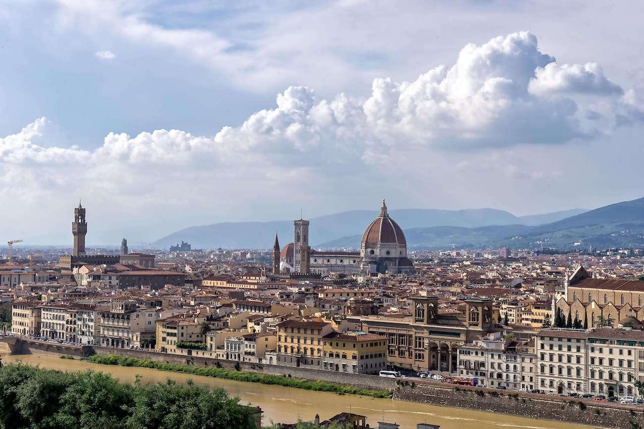 Vie di Dante - Florence Panorama