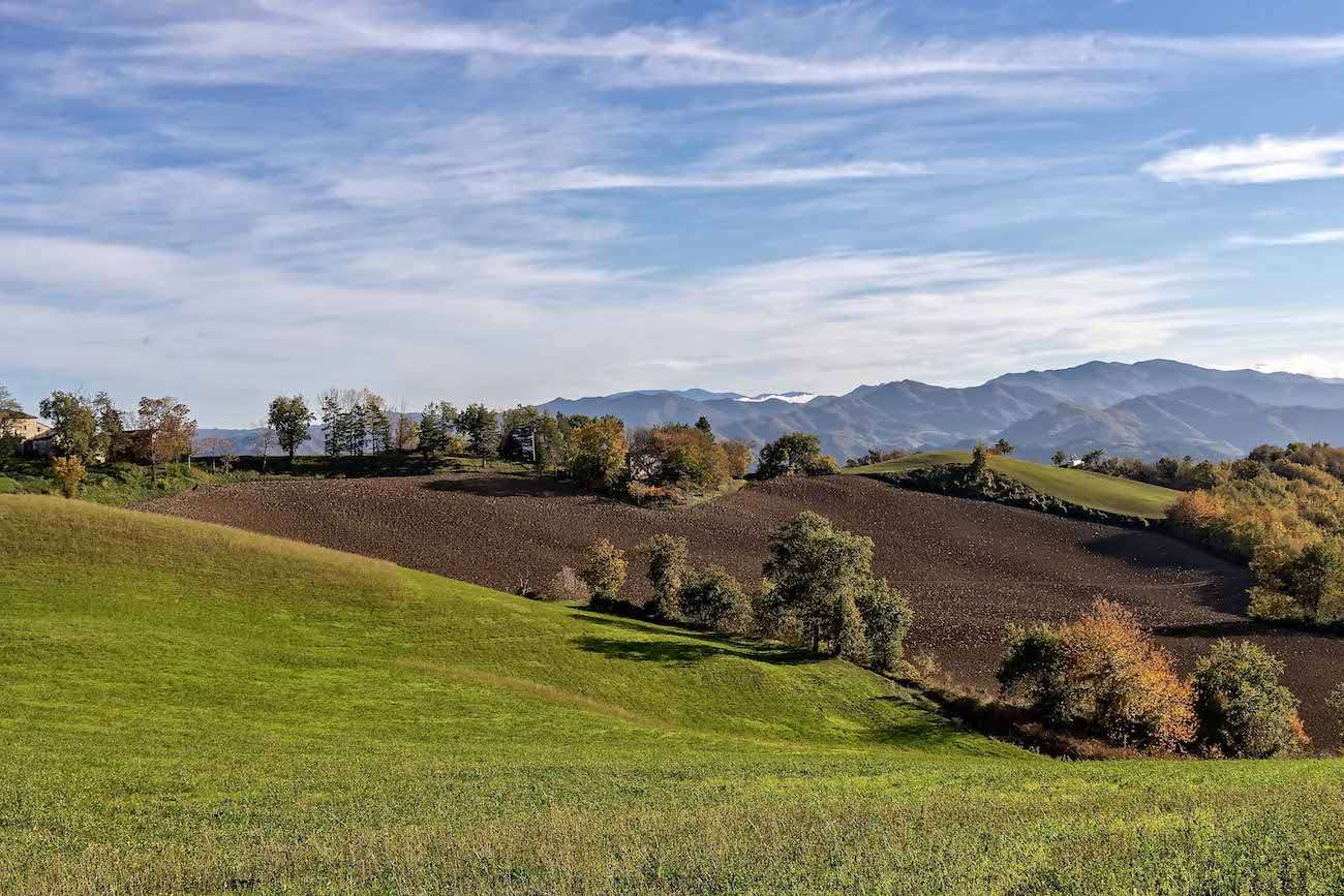 Vie di Dante - Landscape between Marradi and Brisighella